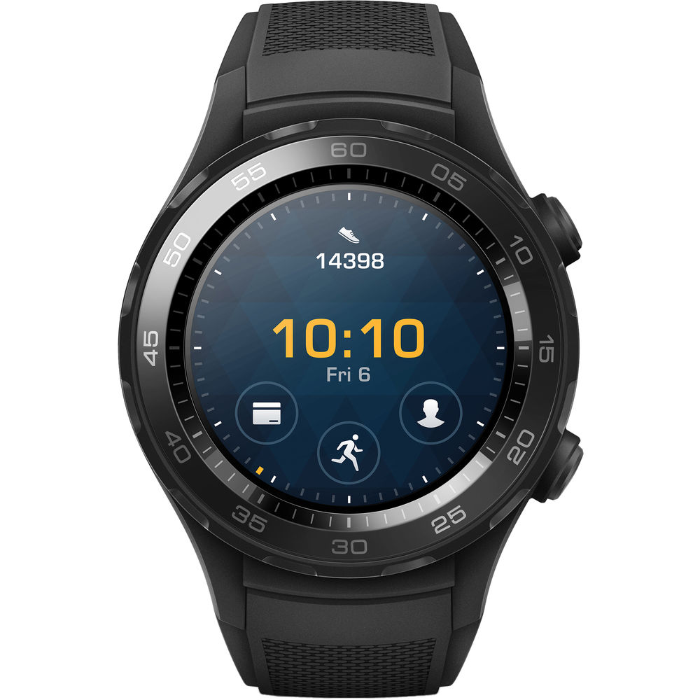 Huawei Smart Watch 2 Wifi Bluetooth - Negro Carbon